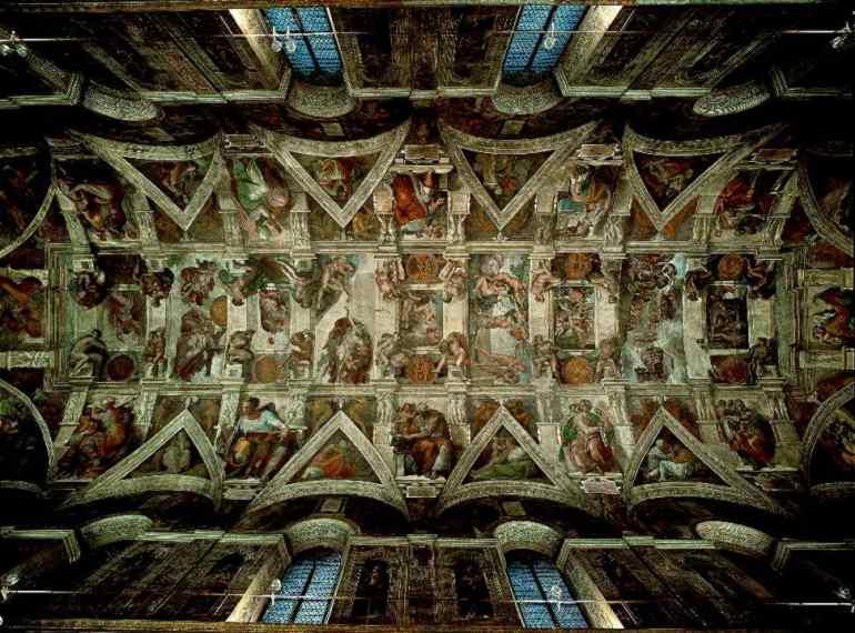 Bramarte viaggio nella storia dell 39 arte cinquecento for Decorazione quattrocentesca della cappella sistina