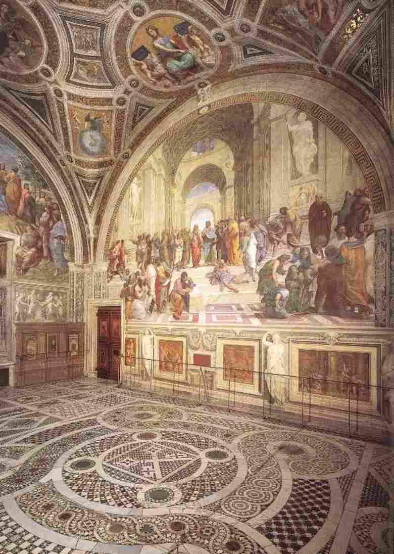 Bramarte viaggio nella storia dell 39 arte cinquecento for Grande disposizione della stanza
