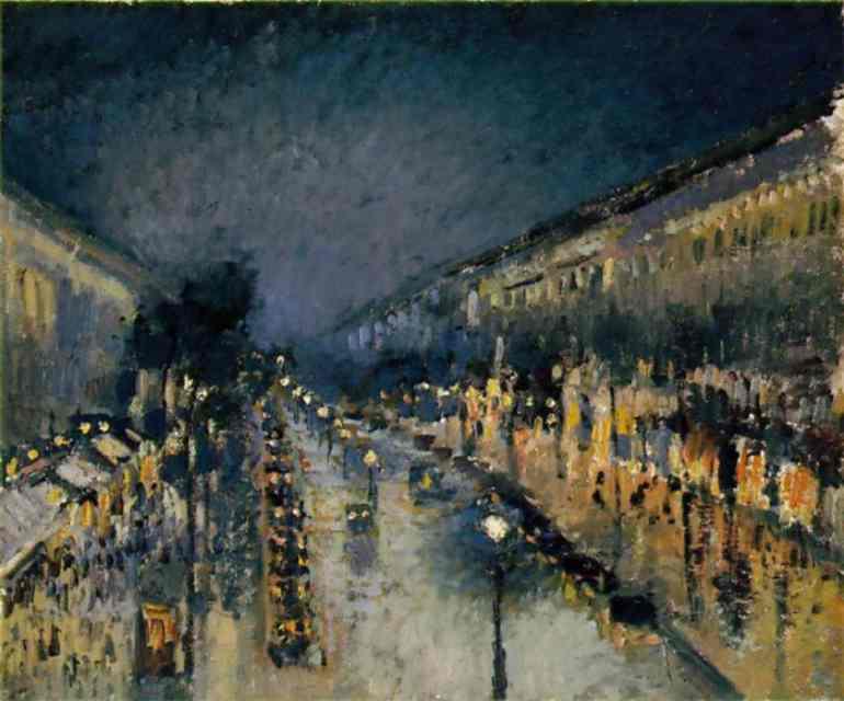 Arte e storia camille pissarro l 39 amore per la pittura for Quadri di parigi